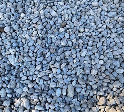 Small grey stones.