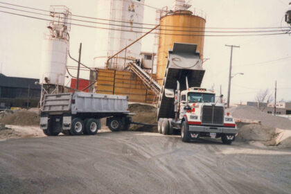 An old photo of Michell equipment.